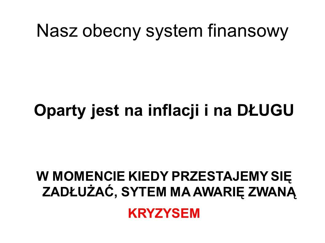 Nasz obecny system finansowy