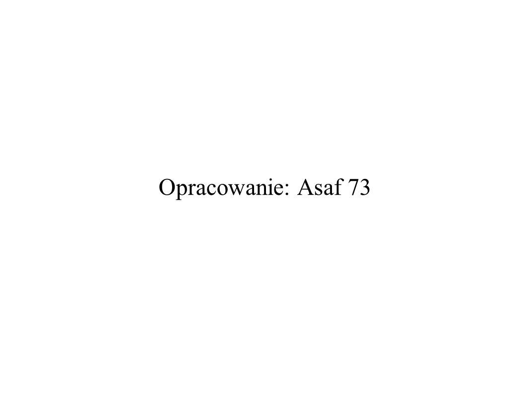 Opracowanie: Asaf 73