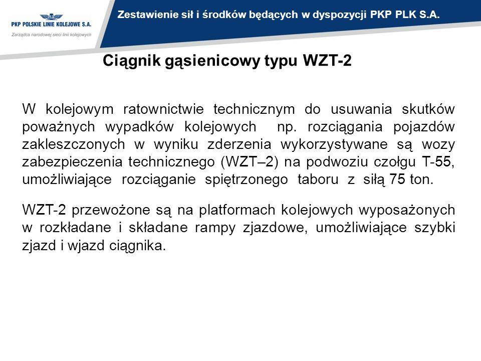 Ciągnik gąsienicowy typu WZT-2