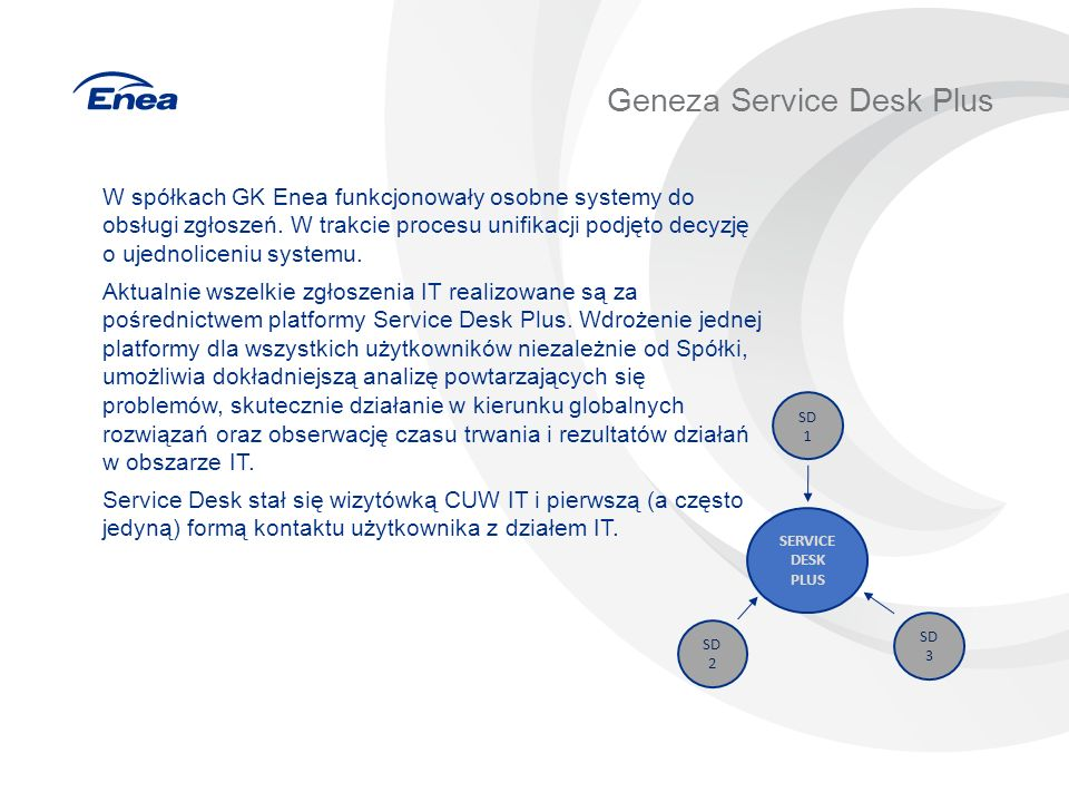 Geneza Service Desk Plus