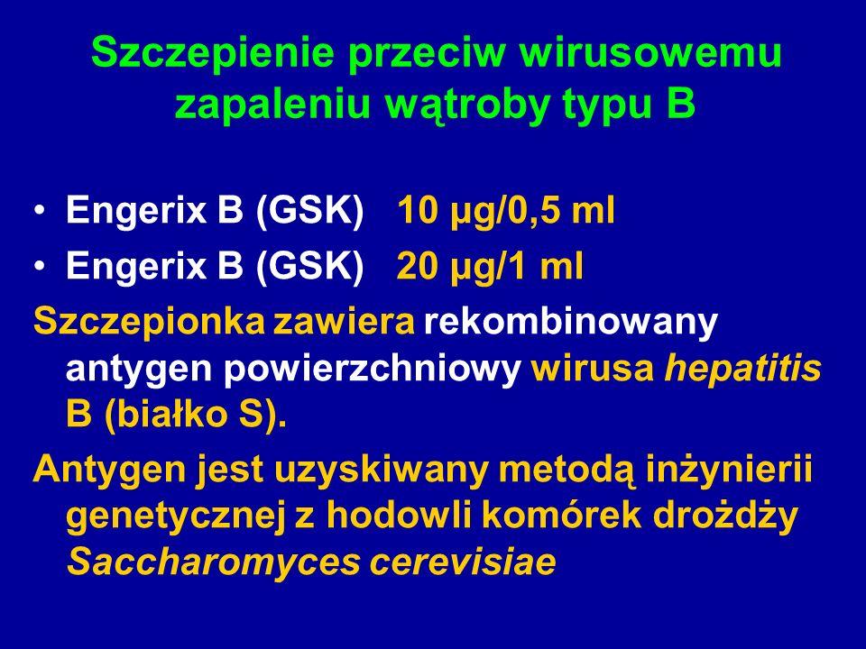 Szczepienie przeciw wirusowemu zapaleniu wątroby typu B