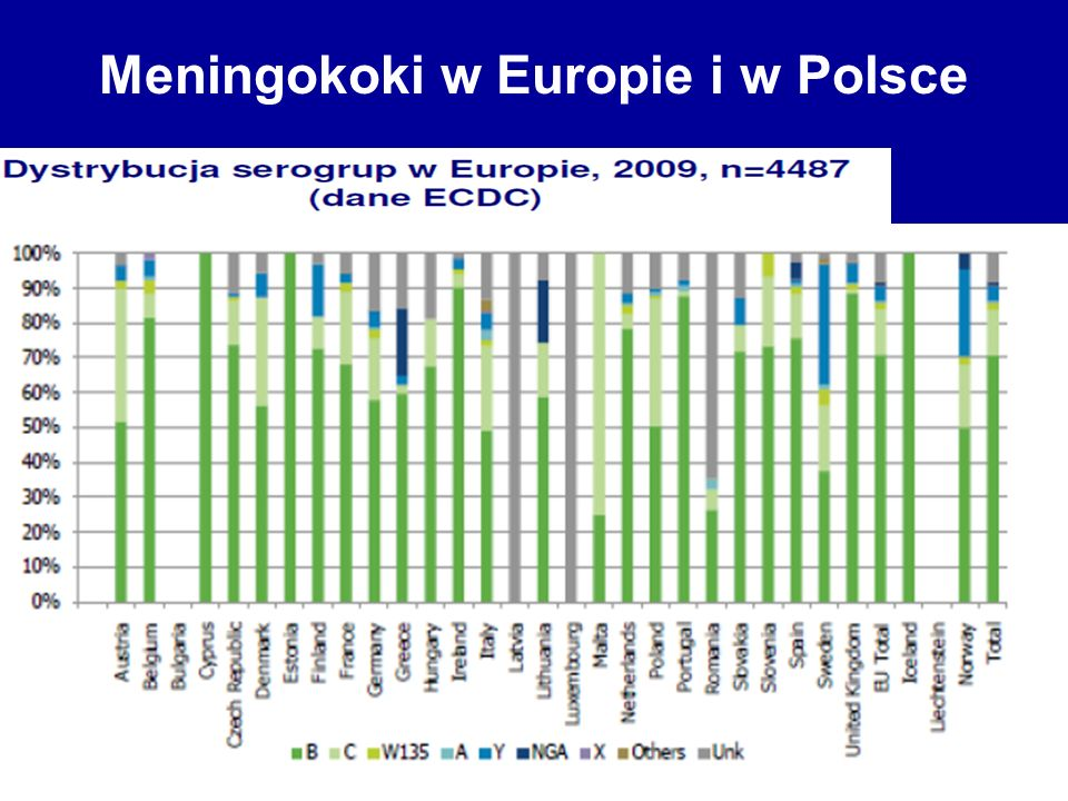 Meningokoki w Europie i w Polsce