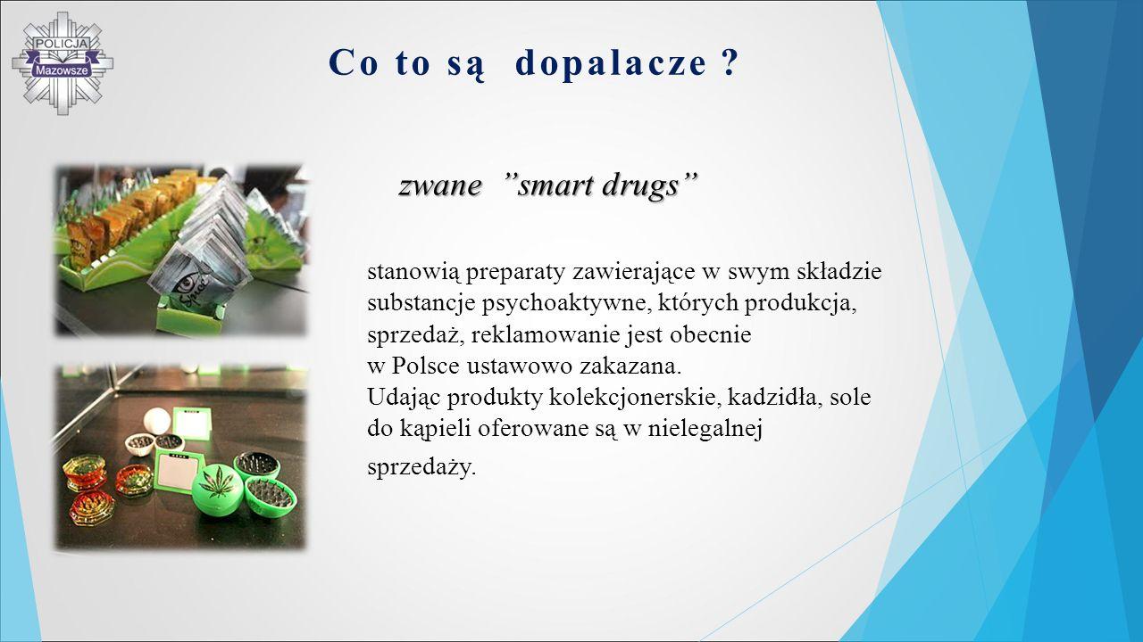 Co to są dopalacze zwane smart drugs