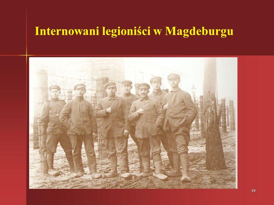 Internowani legioniści w Magdeburgu