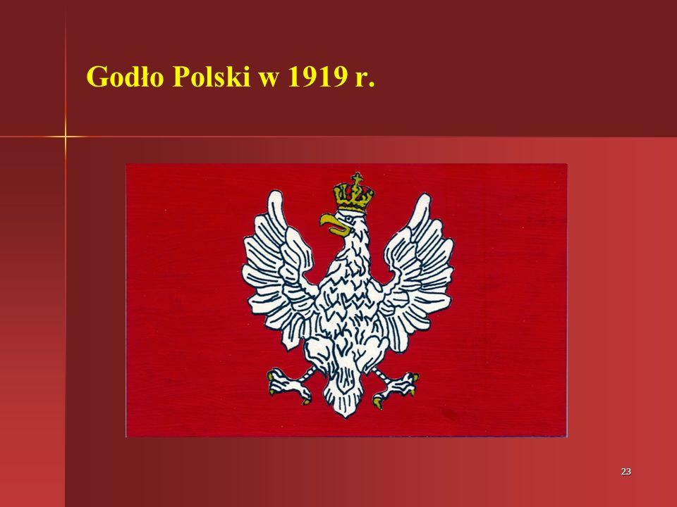 Godło Polski w 1919 r.