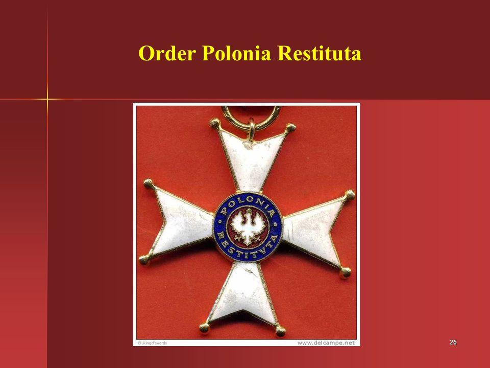 Order Polonia Restituta