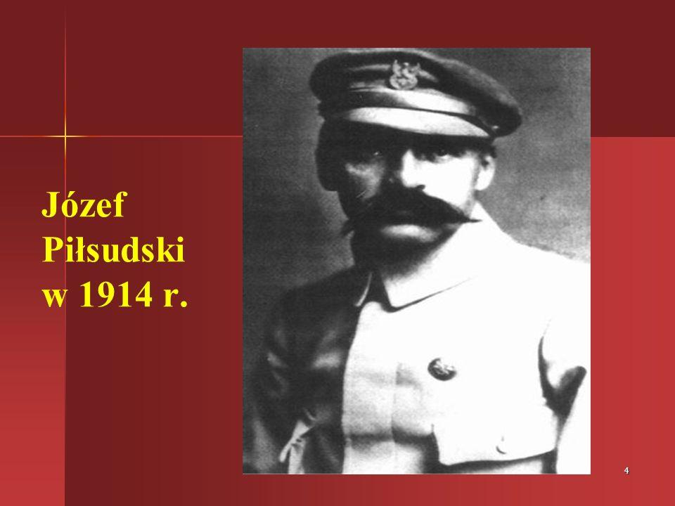 Józef Piłsudski w 1914 r.