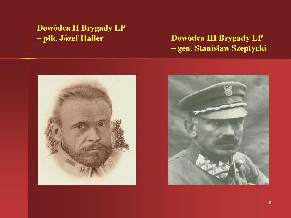 Dowódca II Brygady LP – płk. Józef Haller