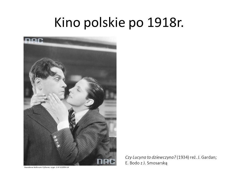 Kino polskie po 1918r. Czy Lucyna to dziewczyna (1934) reż. J. Gardan; E. Bodo z J. Smosarską