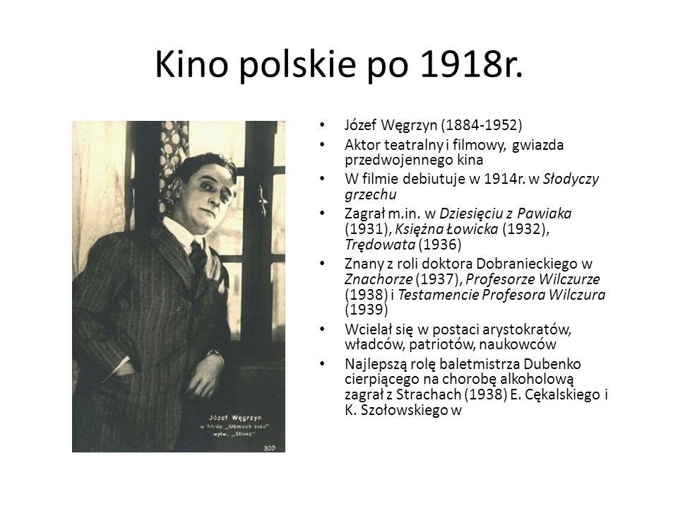 Kino polskie po 1918r. Józef Węgrzyn (1884-1952)