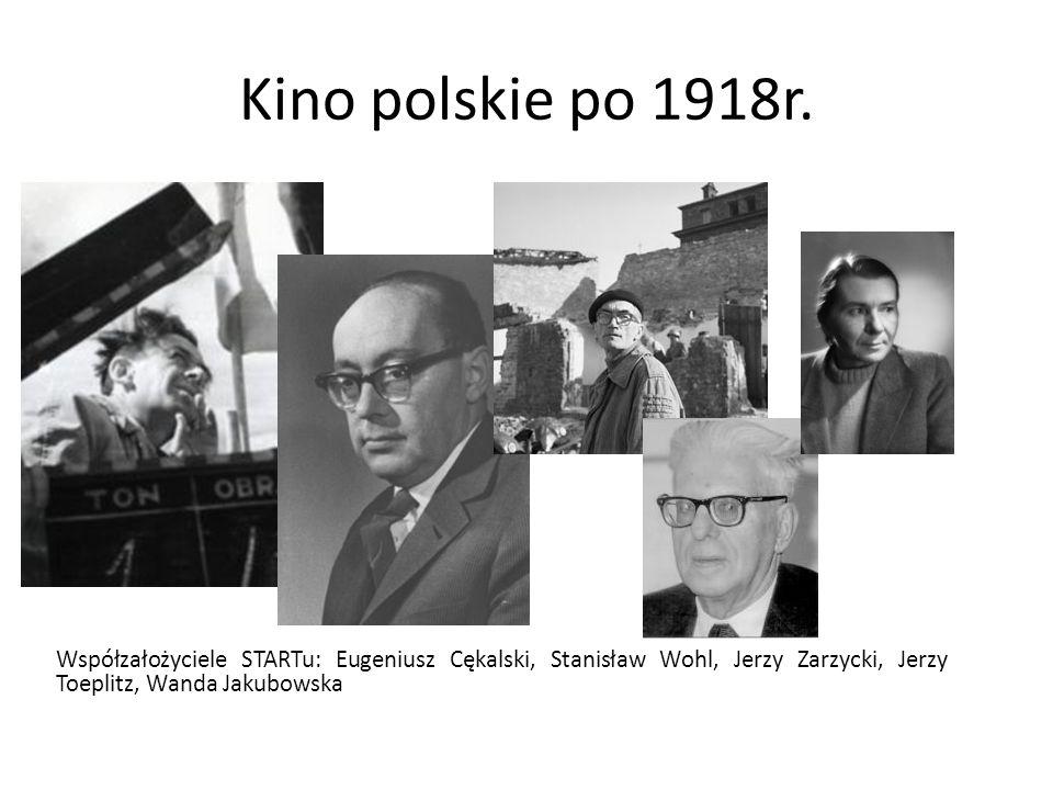 Kino polskie po 1918r. Źródło: filmpolski.pl.