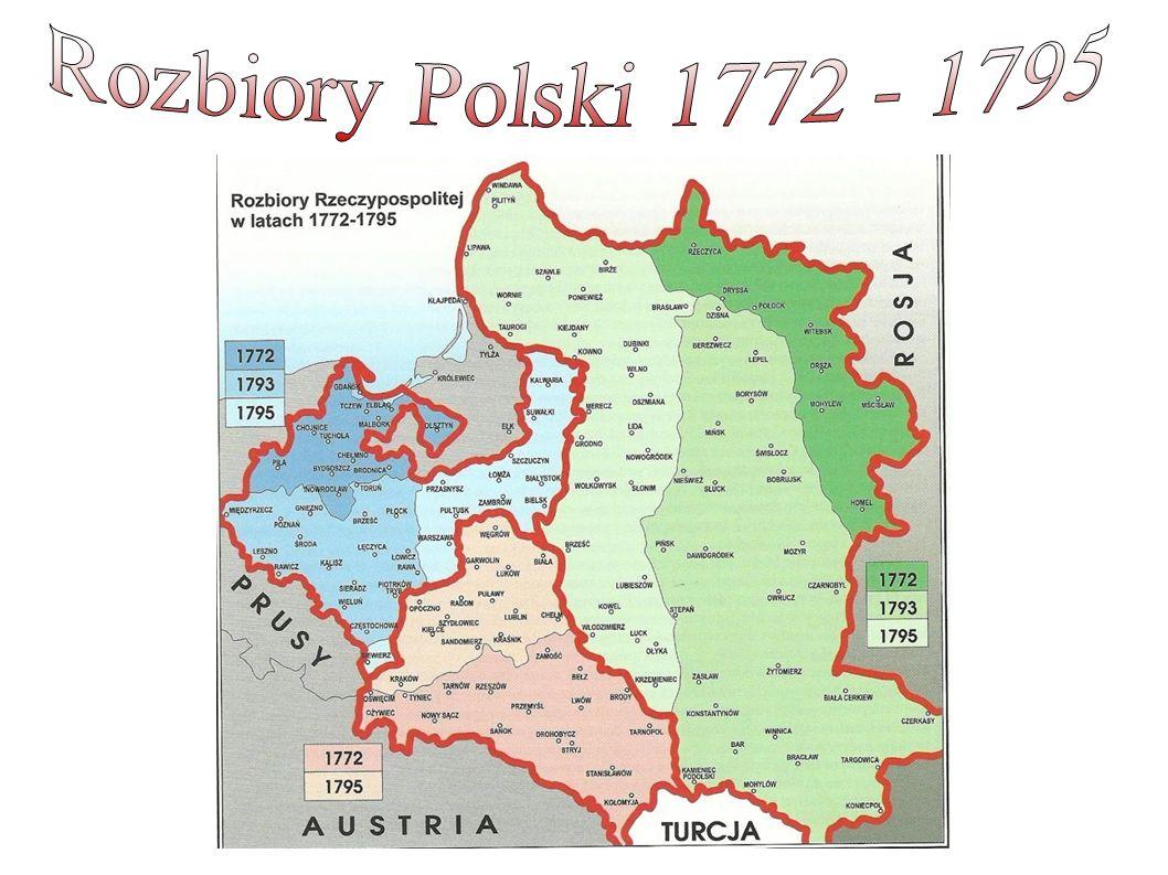 Rozbiory Polski 1772 - 1795