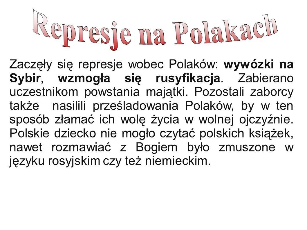 Represje na Polakach