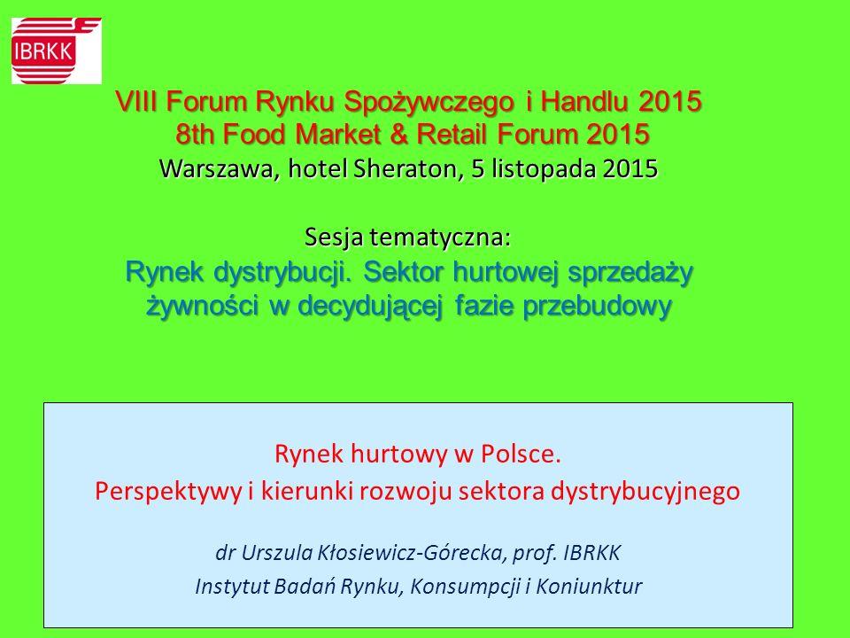 VIII Forum Rynku Spożywczego i Handlu 2015