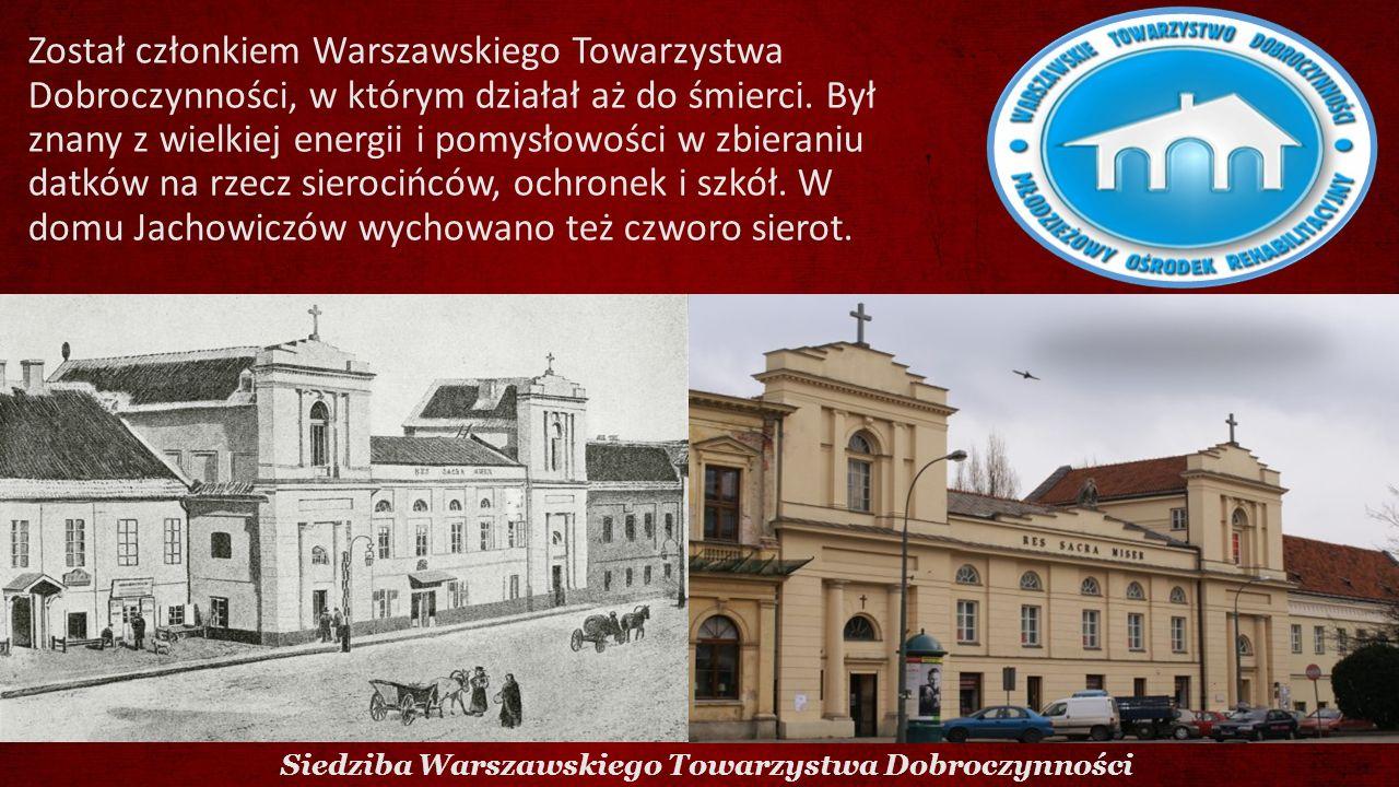 Siedziba Warszawskiego Towarzystwa Dobroczynności