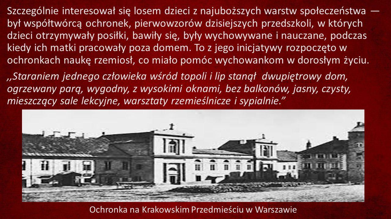 Ochronka na Krakowskim Przedmieściu w Warszawie