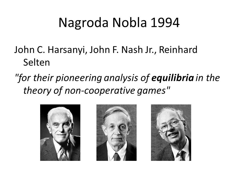 Nagroda Nobla 1994