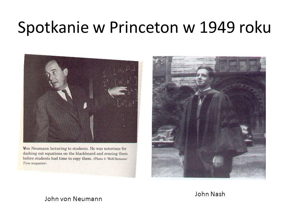 Spotkanie w Princeton w 1949 roku