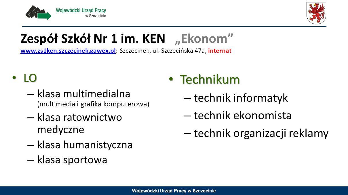 """Zespół Szkół Nr 1 im. KEN """"Ekonom www. zs1ken. szczecinek. gawex"""