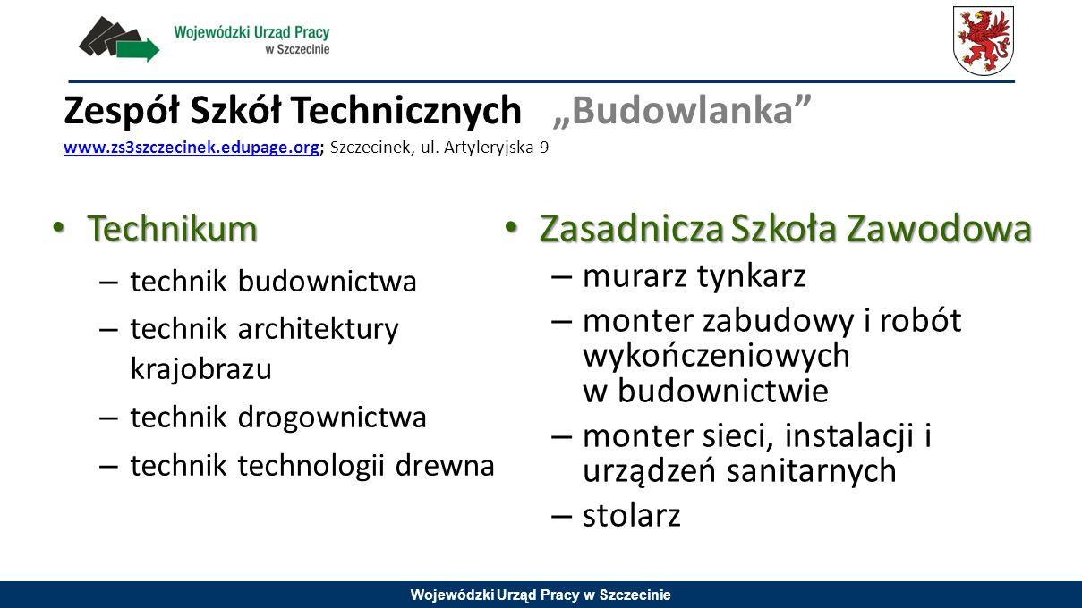 """Zespół Szkół Technicznych """"Budowlanka www. zs3szczecinek. edupage"""