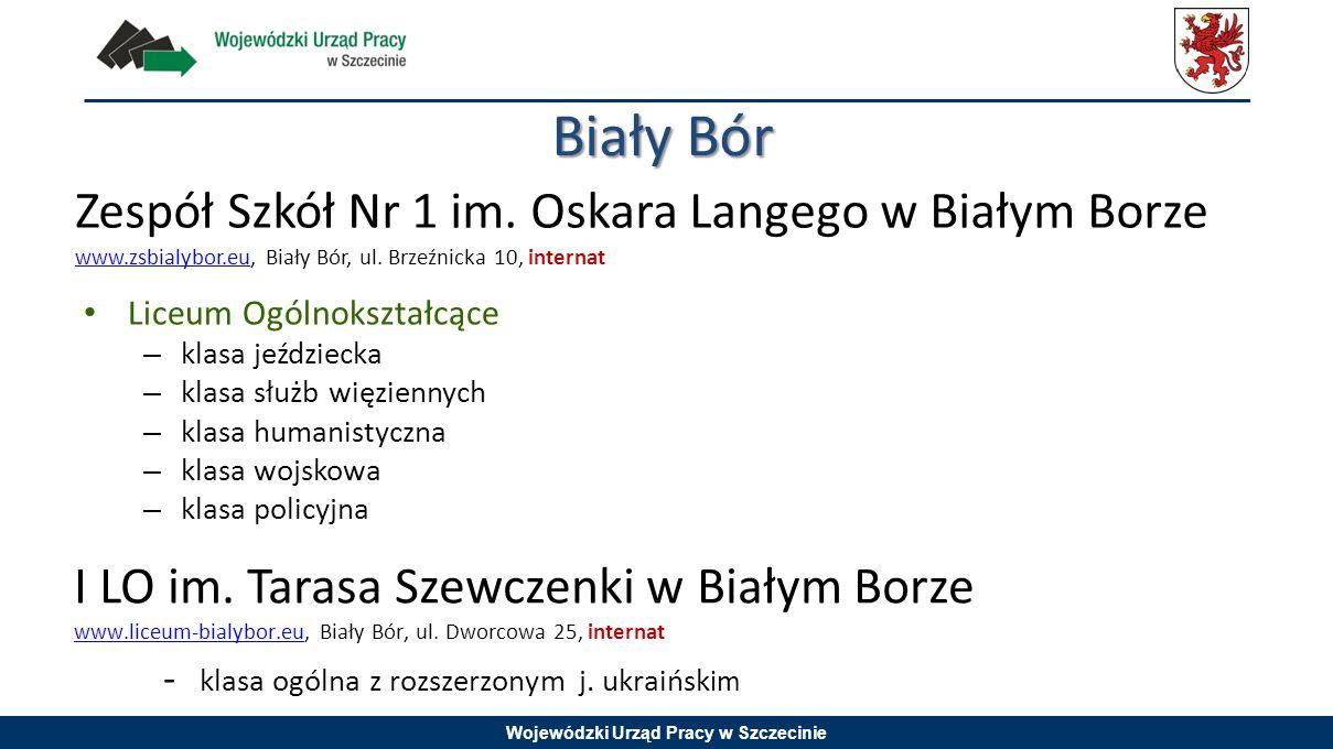 Biały Bór Zespół Szkół Nr 1 im. Oskara Langego w Białym Borze www.zsbialybor.eu, Biały Bór, ul. Brzeźnicka 10, internat.