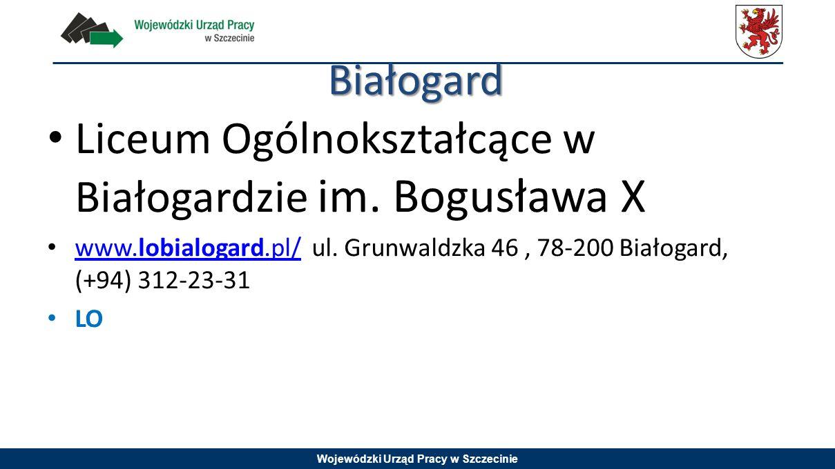 Liceum Ogólnokształcące w Białogardzie im. Bogusława X