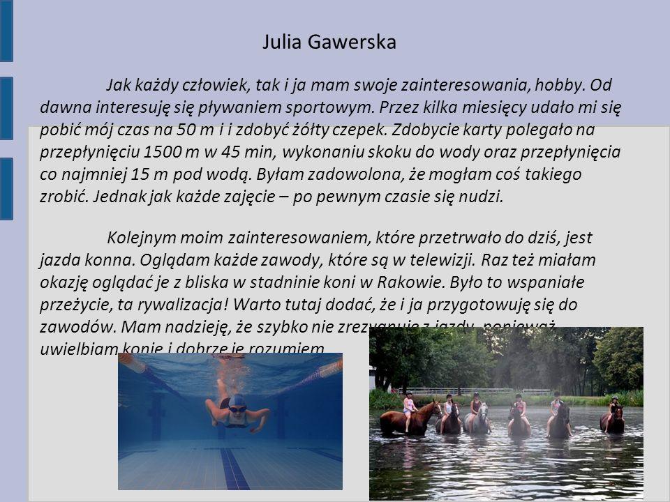 Julia Gawerska