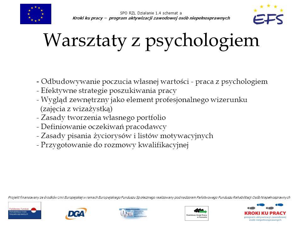 Warsztaty z psychologiem