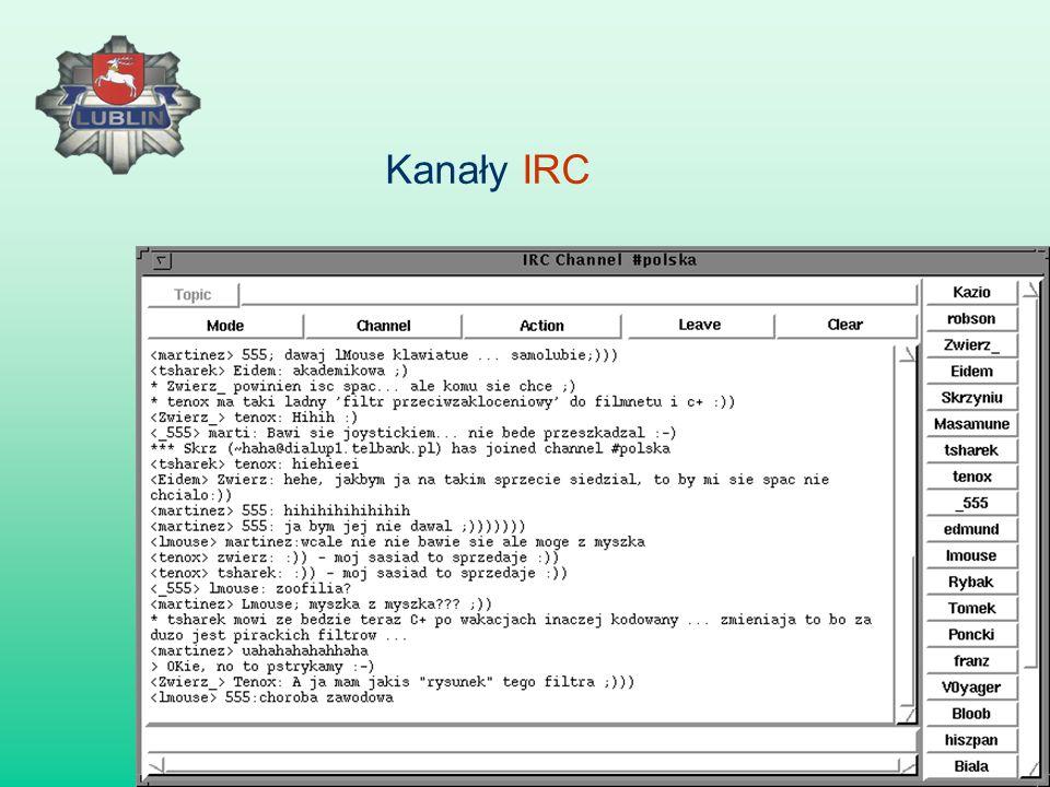 Kanały IRC