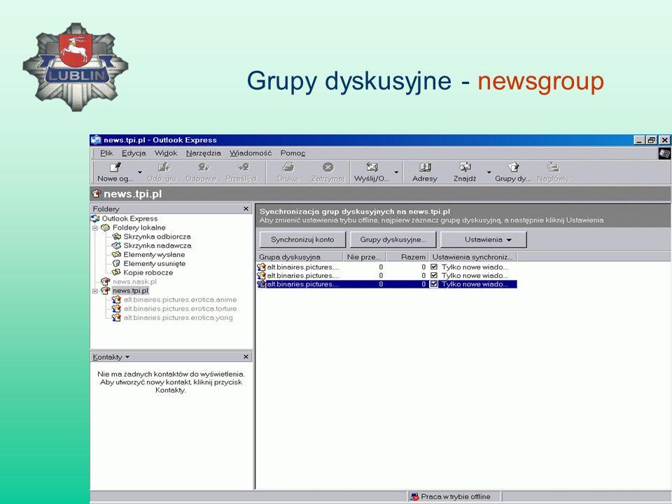 Grupy dyskusyjne - newsgroup