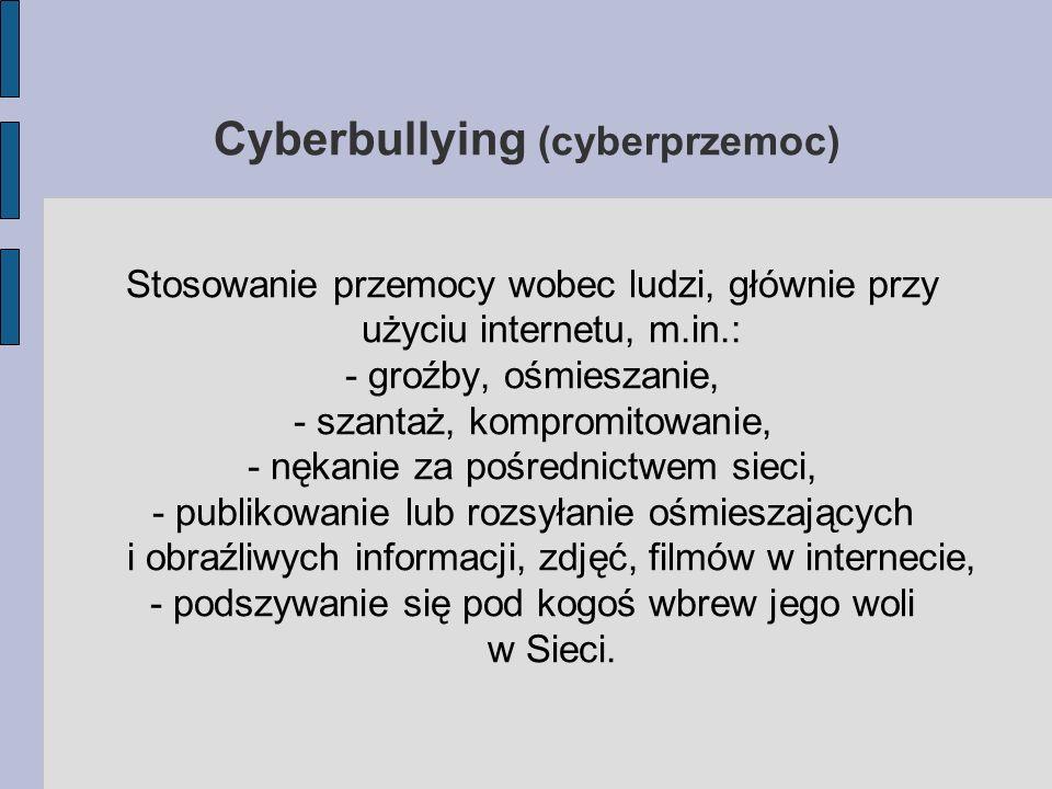 Cyberbullying (cyberprzemoc)