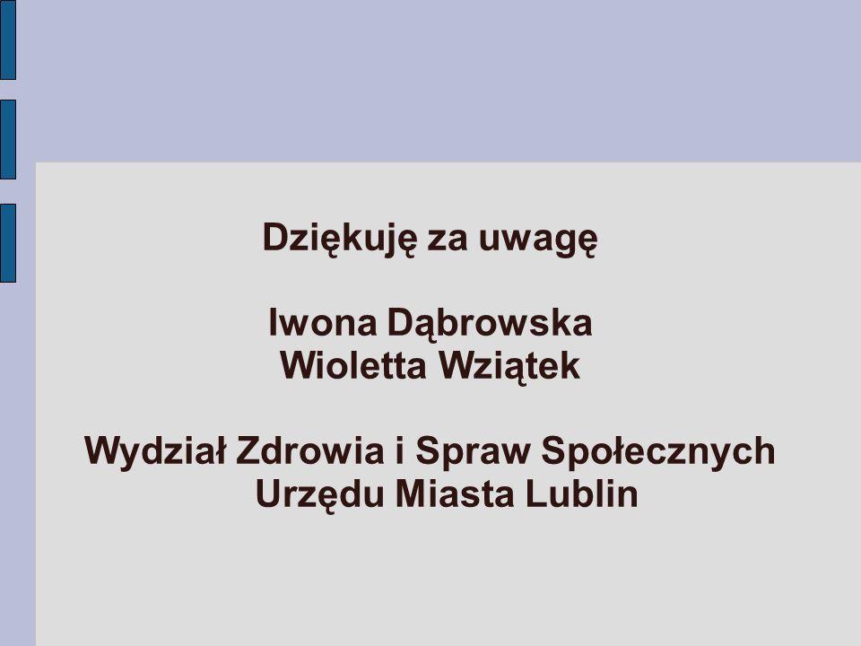 Wydział Zdrowia i Spraw Społecznych Urzędu Miasta Lublin