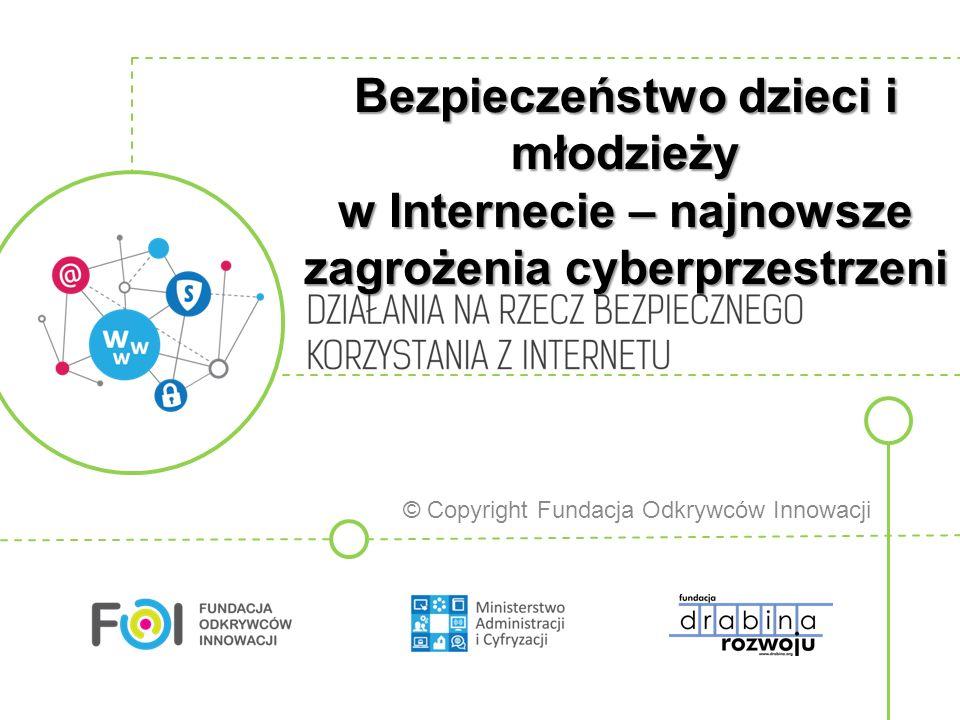 Bezpieczeństwo dzieci i młodzieży w Internecie – najnowsze zagrożenia cyberprzestrzeni