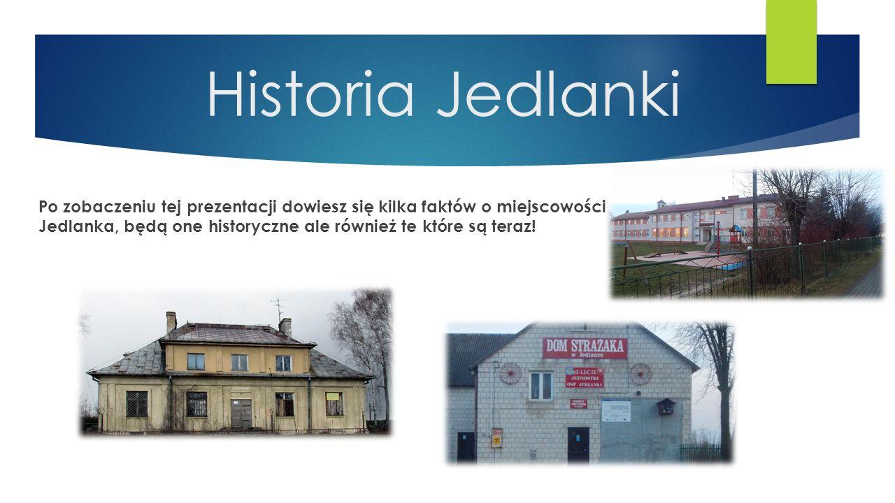 Historia Jedlanki