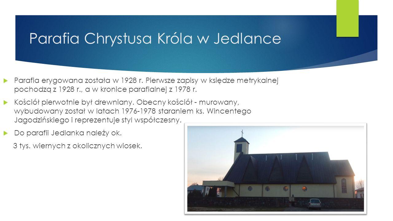 Parafia Chrystusa Króla w Jedlance