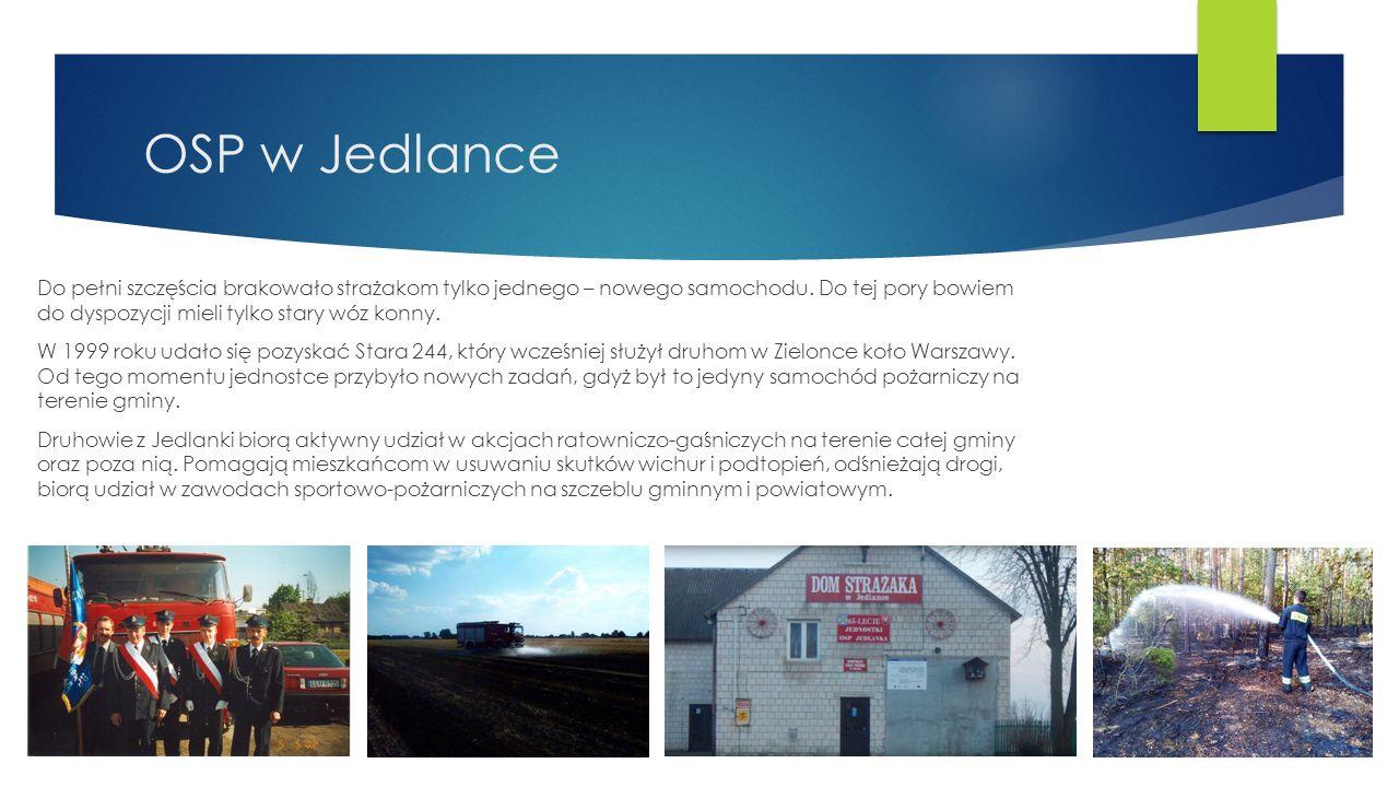 OSP w Jedlance