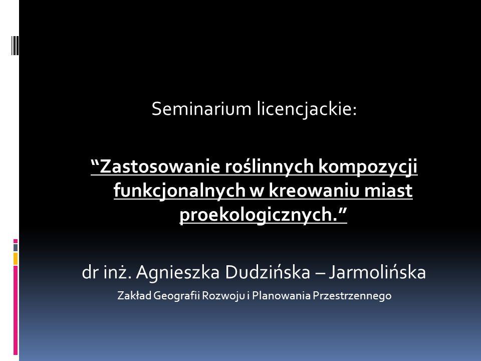 Seminarium licencjackie:
