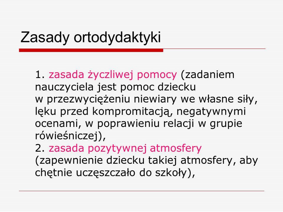 Zasady ortodydaktyki