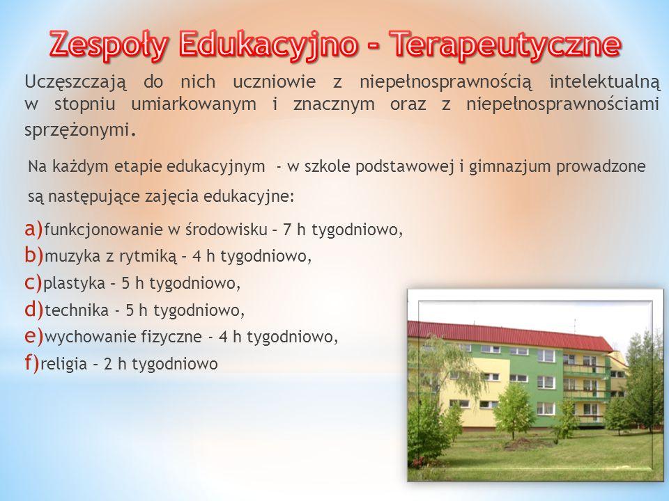 Zespoły Edukacyjno - Terapeutyczne