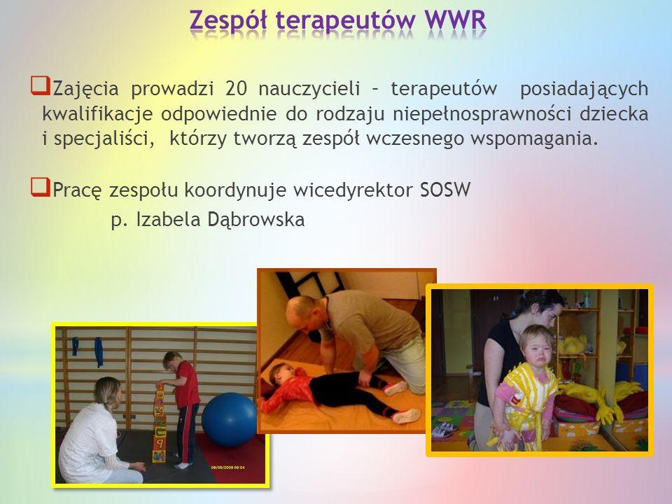 Zespół terapeutów WWR
