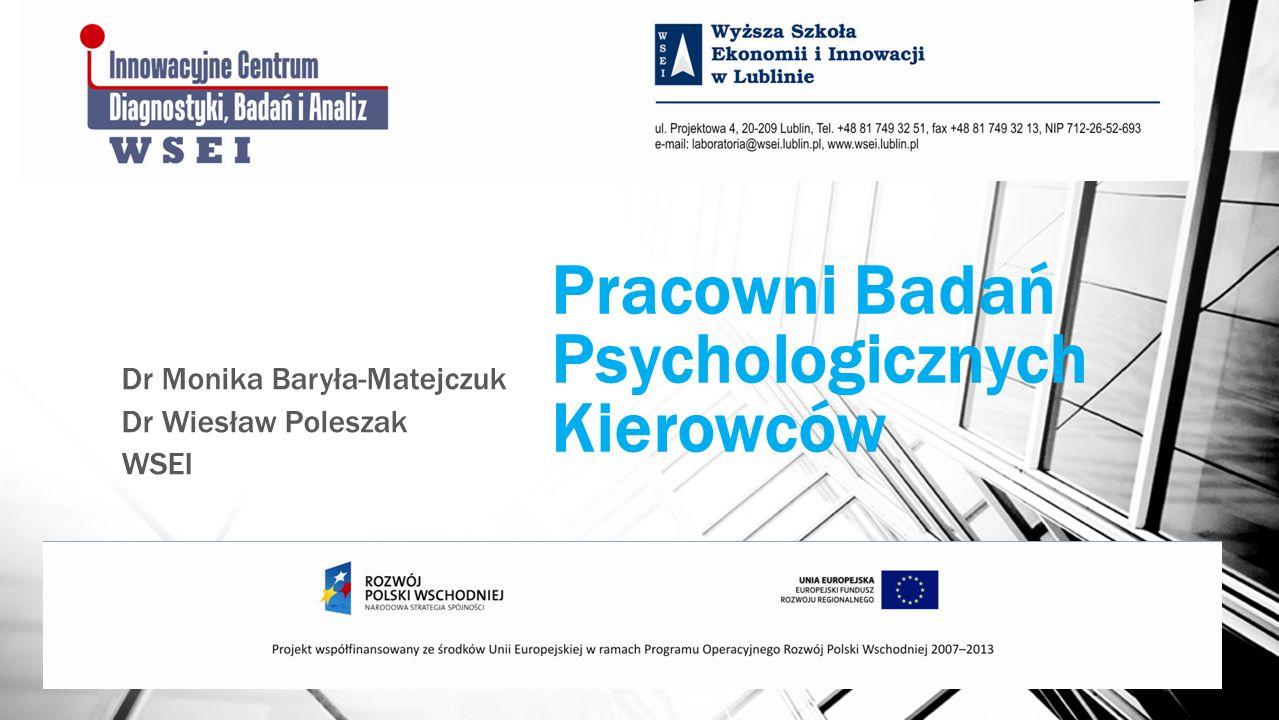 Pracowni Badań Psychologicznych Kierowców