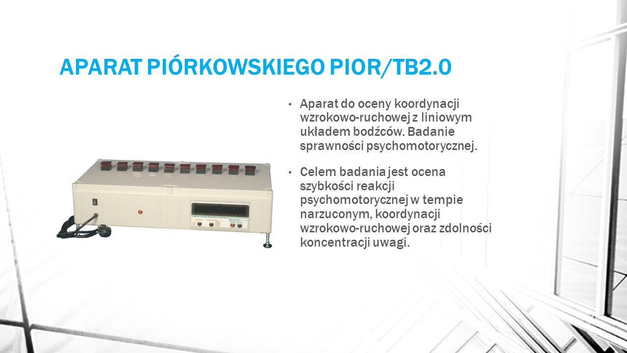 APARAT PIÓRKOWSKIEGO PIOR/TB2.0