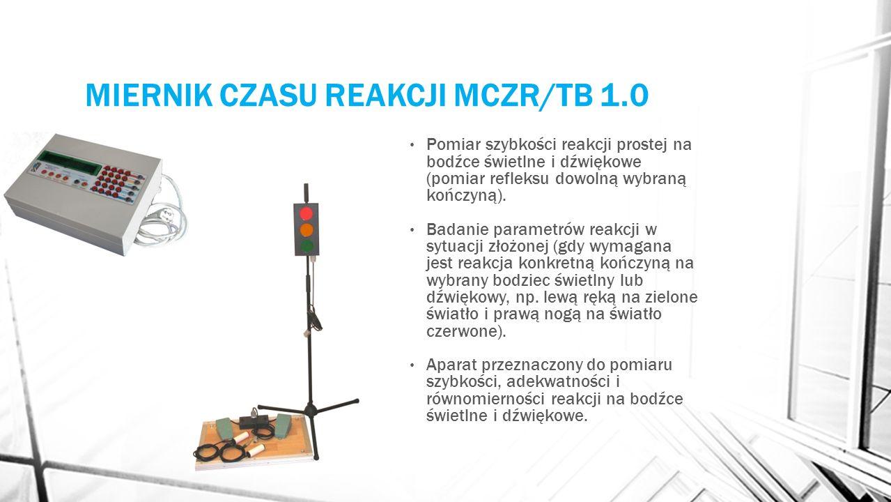 MIERNIK CZASU REAKCJI MCZR/TB 1.0