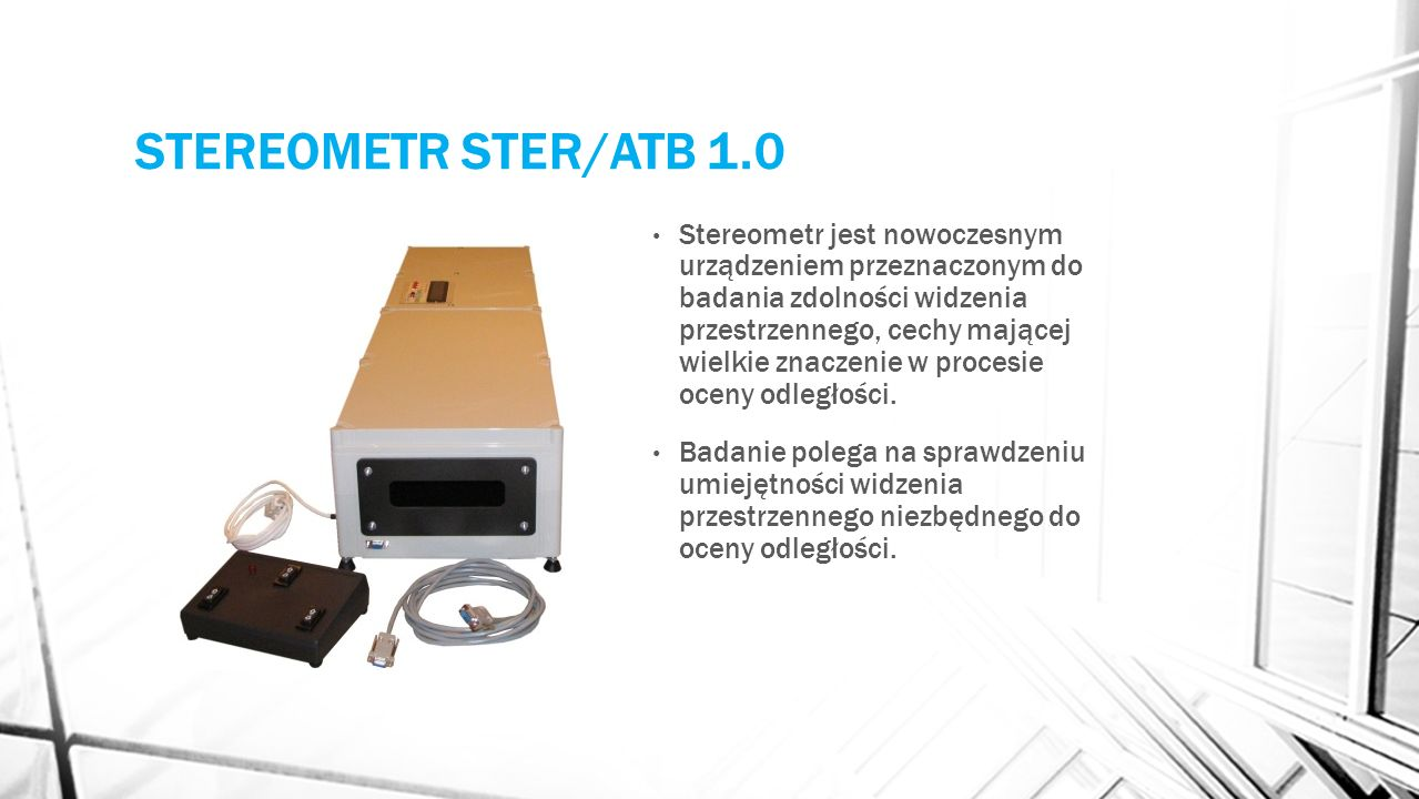 STEREOMETR STER/ATB 1.0