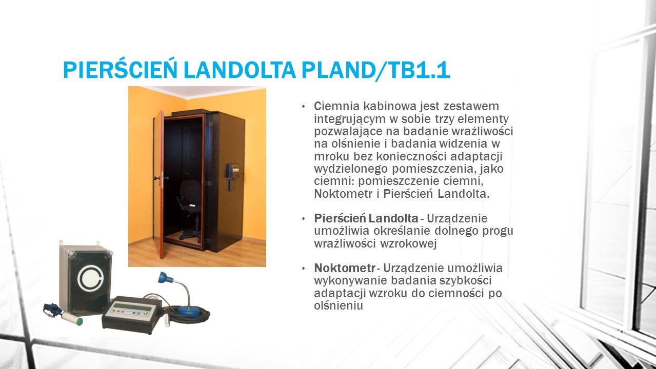 PIERŚCIEŃ LANDOLTA PLAND/TB1.1