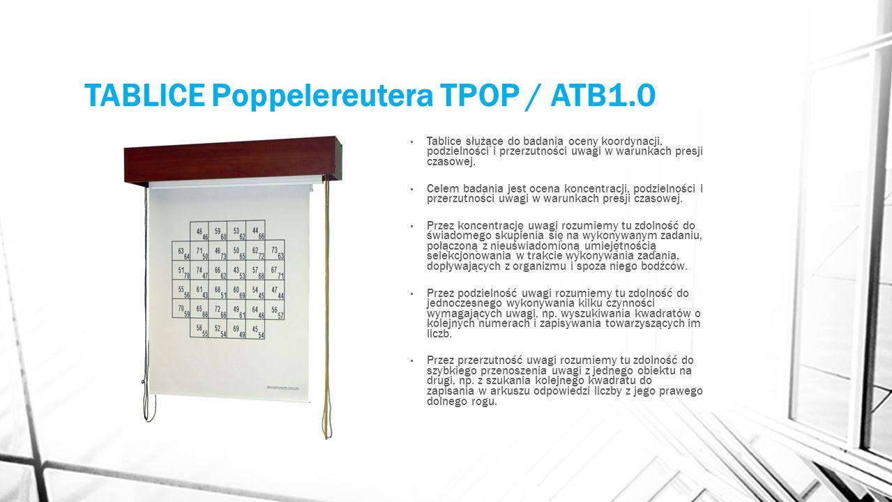 TABLICE Poppelereutera TPOP / ATB1.0