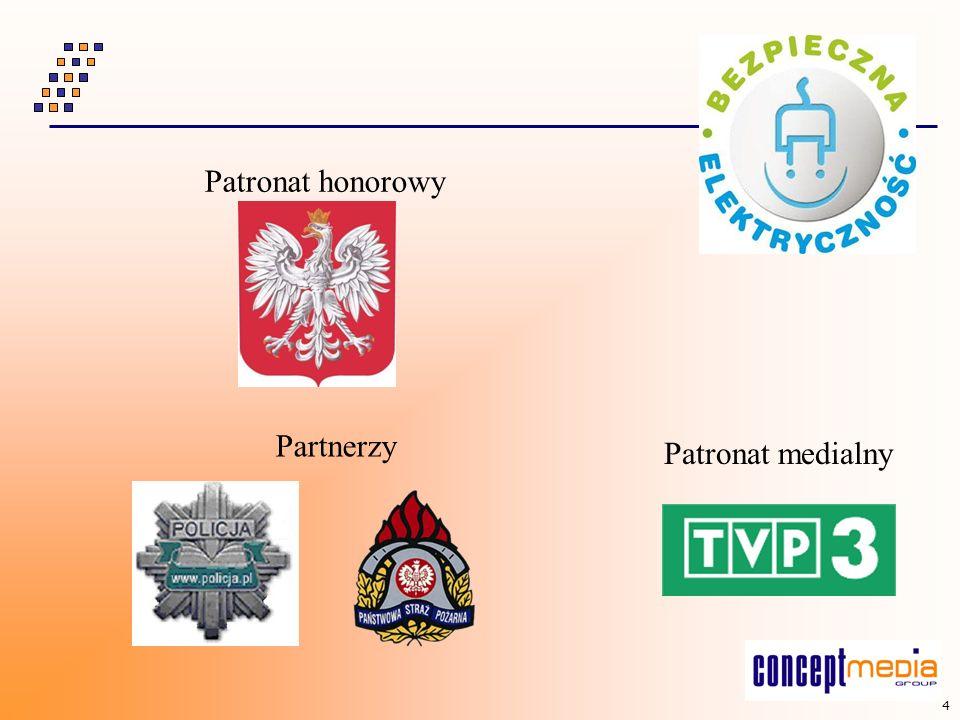 Patronat honorowy Partnerzy Patronat medialny