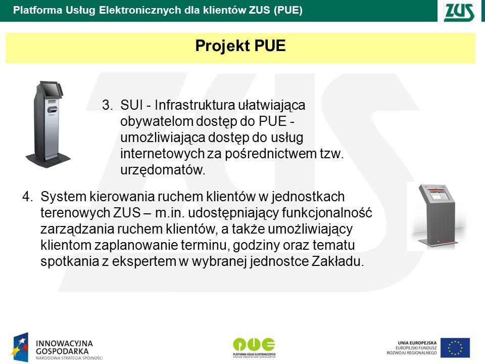 Platforma Usług Elektronicznych dla klientów ZUS (PUE)