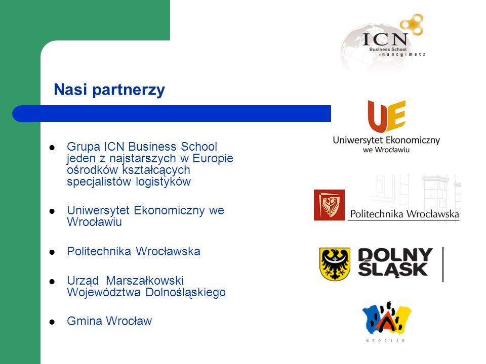 Nasi partnerzy Grupa ICN Business School jeden z najstarszych w Europie ośrodków kształcących specjalistów logistyków.