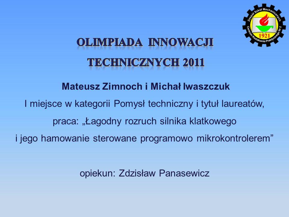 Mateusz Zimnoch i Michał Iwaszczuk